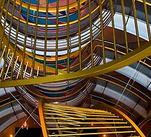 Cruise Ship Perspective 2 by David Chappell