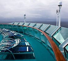 Cruise Ship Perspective 3 by David Chappell