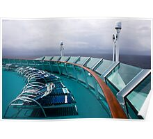 Cruise Ship Perspective 3 Poster