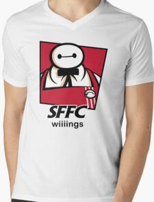 SFFC Mens V-Neck T-Shirt