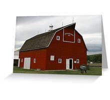 Pritchard Barn, Kansas Greeting Card