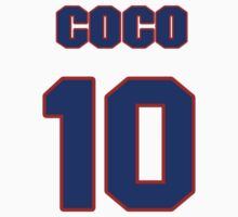 National baseball player Coco Crisp jersey 10 by imsport