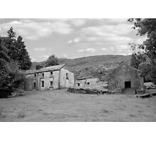 rundown abandoned Irish farmhouse Photographic Print