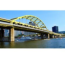 Along the Allegheny River  Photographic Print