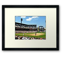 Beautiful Day For a Ballgame Framed Print
