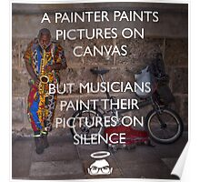 Paint on Silence! Poster