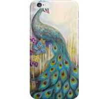 Peacock Painting iPhone Case/Skin