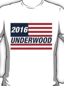 Frank Underwood For US President 2016 T-Shirt