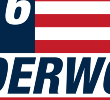 Frank Underwood For US President 2016 Sticker