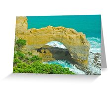 The Arch Lookout Greeting Card