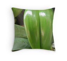 Orchid in good health Throw Pillow