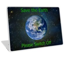 Save The Earth Laptop Skin