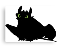 toothless (larger). Canvas Print