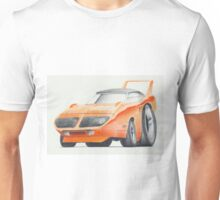 Plymouth Superbird by Glens Graphix Unisex T-Shirt