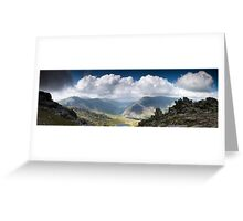 Ogwen Valley Panorama Greeting Card