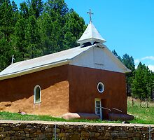 Old Church in Pecos NM by DanTheBugleMan