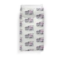 XY GT Burn out by Glens Graphix Duvet Cover