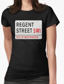 Regent Street London Street Sign T-Shirt