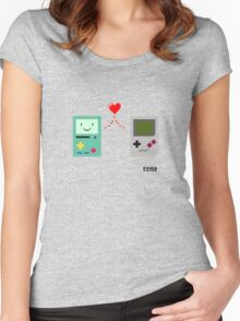 BMO <3 GB Women's Fitted Scoop T-Shirt