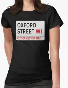 Oxford Street London Street Sign T-Shirt