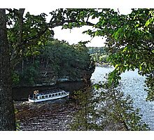 Boat Drinks Photographic Print