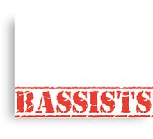 8th Day Bassists T-shirt Canvas Print