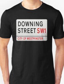 Downing Street London Street Sign T-Shirt