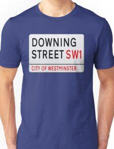 Downing Street London Street Sign Unisex T-Shirt
