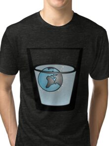 The earth is melting... Tri-blend T-Shirt