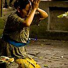 Prayer - Bali, Indonesia by Stephen Permezel