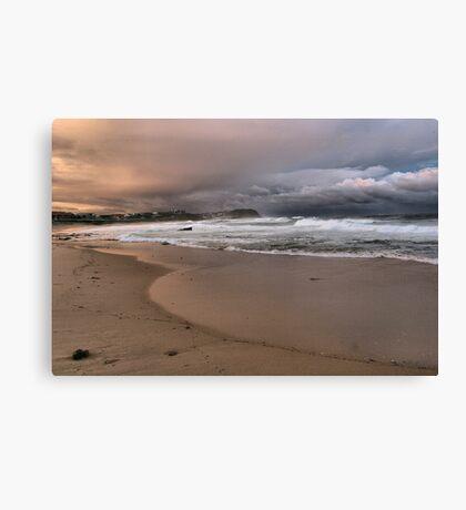 North to Bar Beach Canvas Print