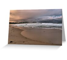 North to Bar Beach Greeting Card