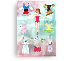 Paper Doll - Delia Canvas Print