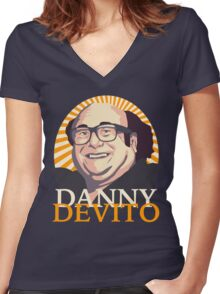 Danny Devito Women's Fitted V-Neck T-Shirt