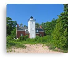Forty Mile Point Lighthouse Canvas Print