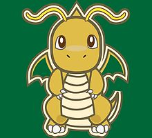 Dragonite by Skull And Cubone Society