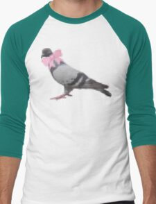 Pigeon version 1.1 Men's Baseball ¾ T-Shirt
