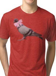 Pigeon version 1.1 Tri-blend T-Shirt