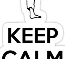 Keep Calm HARAI GOSHI! Sticker