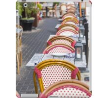 Wicker Chairs iPad Case/Skin