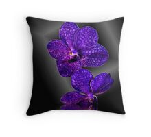 Orchid Plunge Throw Pillow