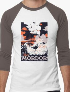 Visit Mordor Men's Baseball ¾ T-Shirt