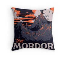Visit Mordor Throw Pillow