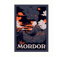 Visit Mordor Art Print