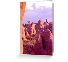 Colorful Rock Formations (Arches Nat'l Park, Utah, USA) Greeting Card
