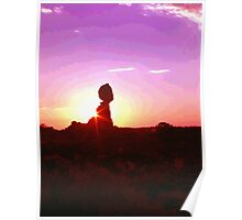 Balanced Rock (Arches Nat'l Park) Poster