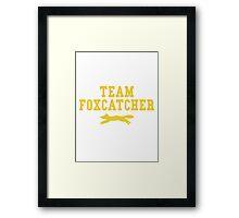 Team Foxcatcher Framed Print
