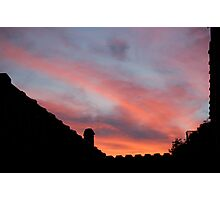 Pastel Sky Photographic Print