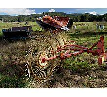 photoj Farming Equipment Photographic Print