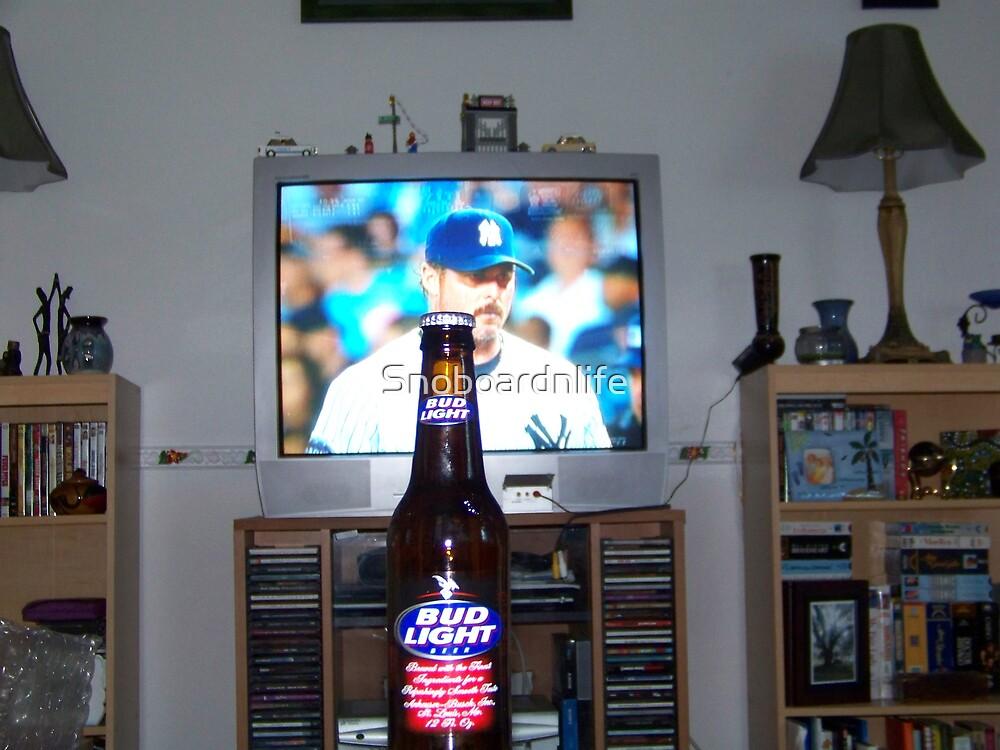 Beer N' Yankees Baseball by Snoboardnlife